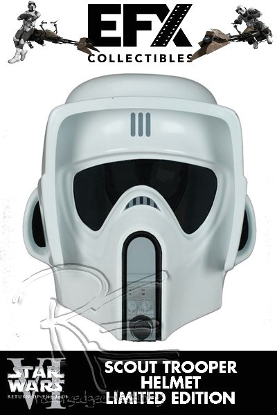 eFX Star Wars Scout Trooper Helmet LE