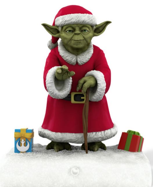 """Yoda Peekbuster"" via StarWars.com"