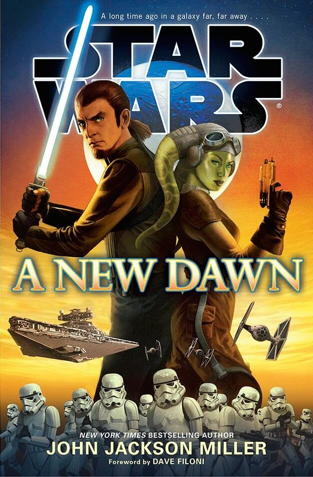 A New Dawn cover via Del Rey Books