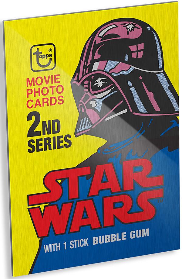 2015 Topps Star Wars Original Wrapper Wall Art - YodasNews.com ...