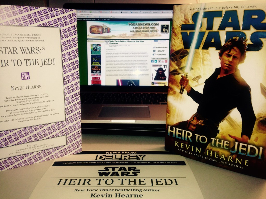 Heir to the Jedi, by Kevin Hearne