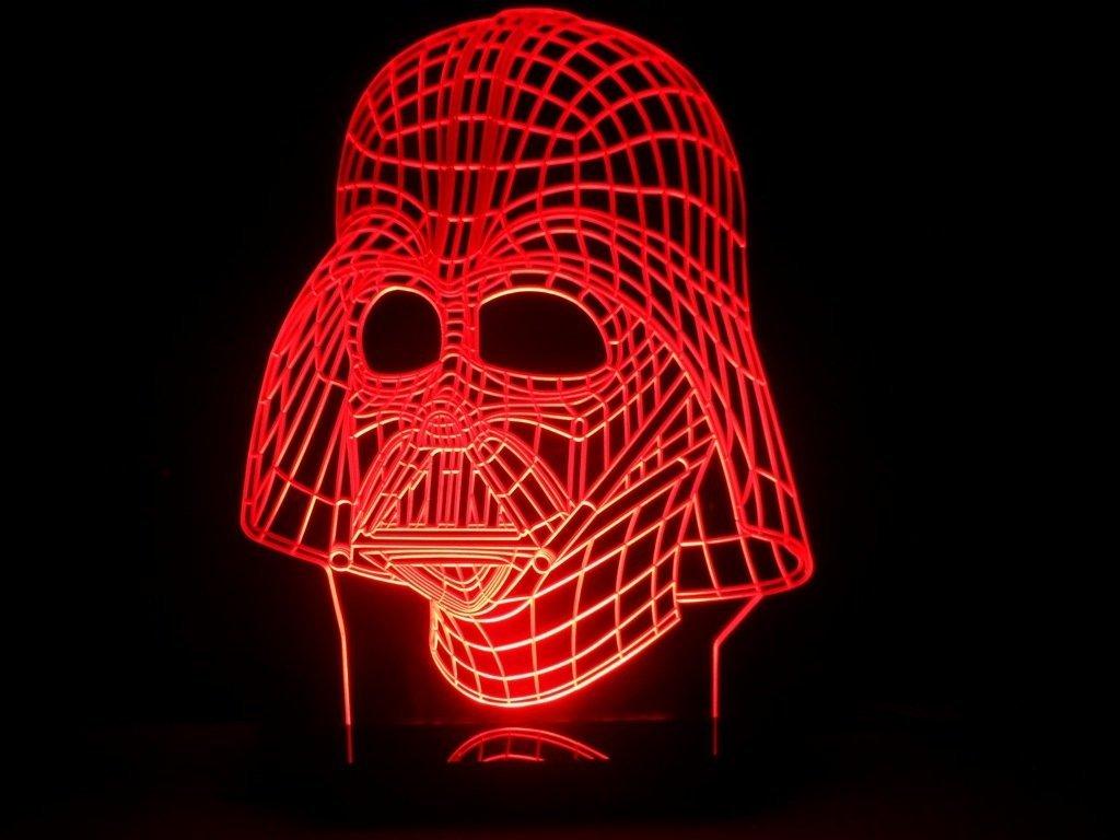 Star Wars 3d Darth Vader Light At Amazon Yodasnews Com
