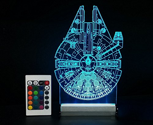 tag archive for millennium falcon led lamp on amazon star wars action. Black Bedroom Furniture Sets. Home Design Ideas
