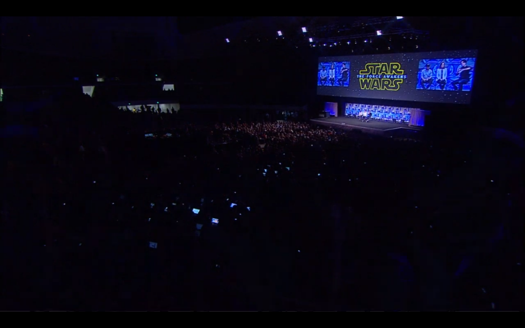 The Force Awakens panel.