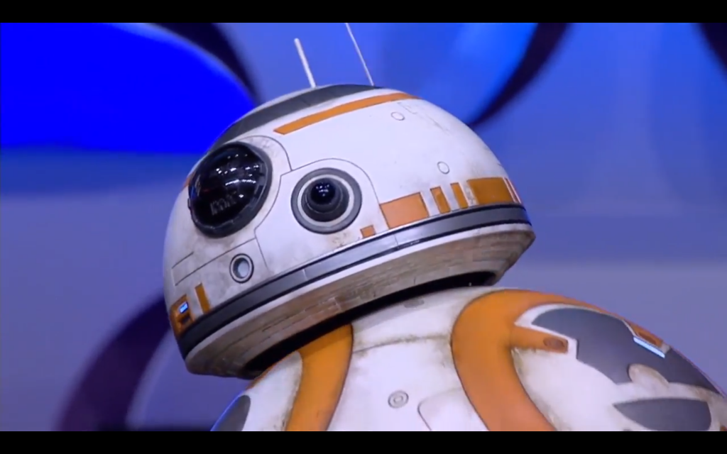BB-8 shows us a bit of attitude.