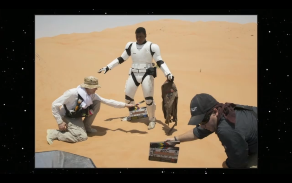 John Boyega confirmed he is a stormtrooper in Episode 7.