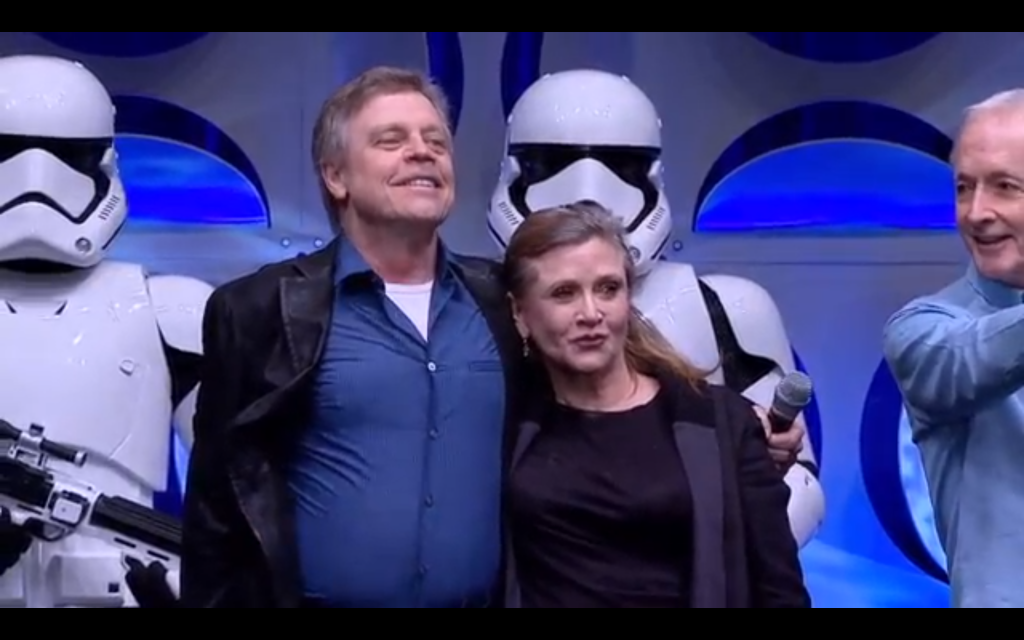 """""""The Force is strong in my family."""""""