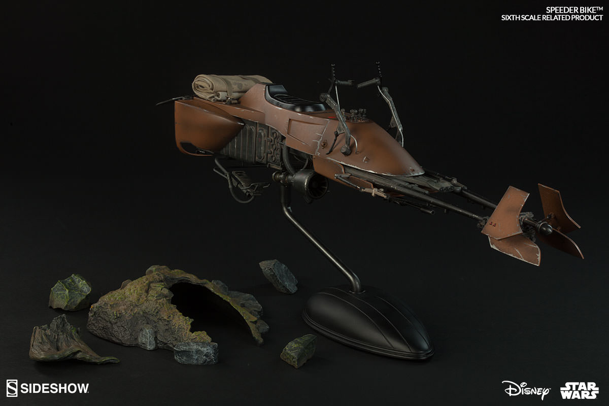 Review Scout Trooper And Speeder Bike Sixth Scale Figure By