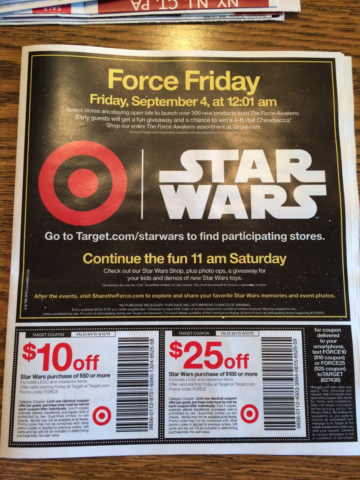 coupons in the sunday paper