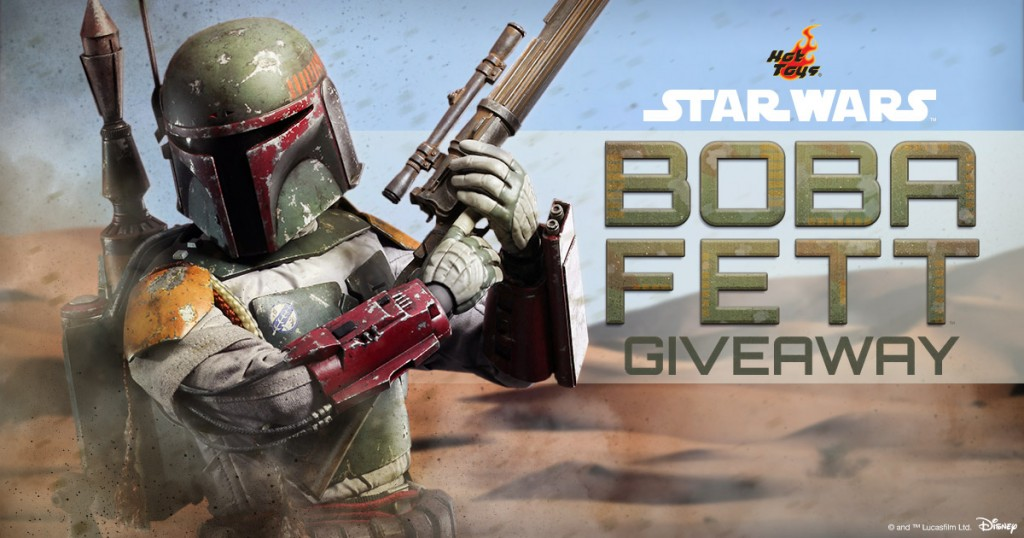 Sideshow collectibles boba fett giveaways