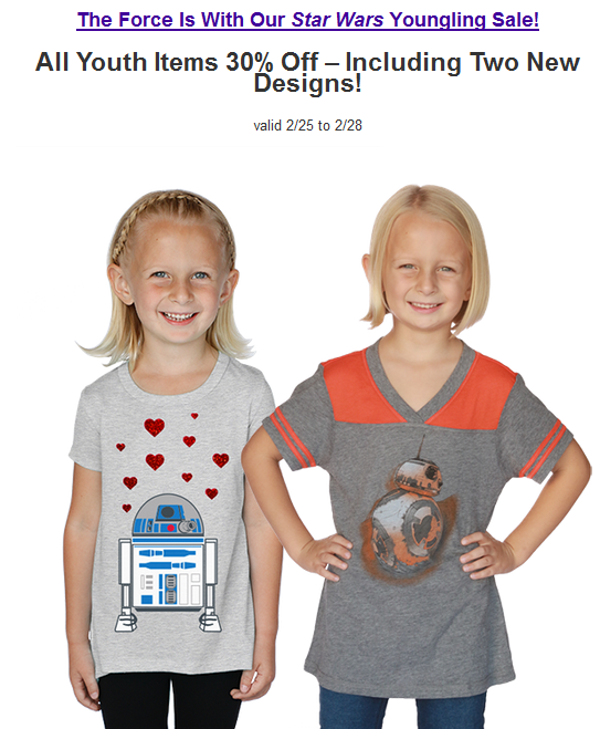 2016-02-25 11_29_55-All Star Wars Youth Items now 30% OFF! - Inbox - yodasnews@kid4life.com - Mozill