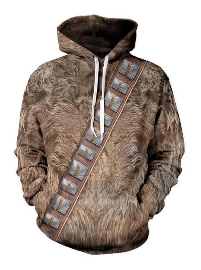 Chewbacca Pullover Hoodie On Amazon Yodasnews Com Star Wars