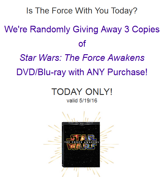 2016-05-19 11_58_27-The Force Awakens at Heruniverse.com Today! - Inbox - mark@yodasnews.com - Mozil