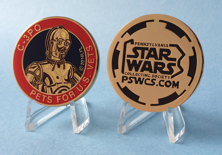 Pets for US Vets C-3PO Medallion