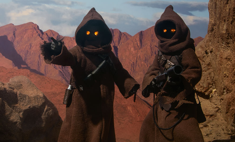 Jawa Sixth Scale Figure Set By Sideshow Collectibles Available For Pre Order Yodasnews Com A Daily Stop For All Star Wars News