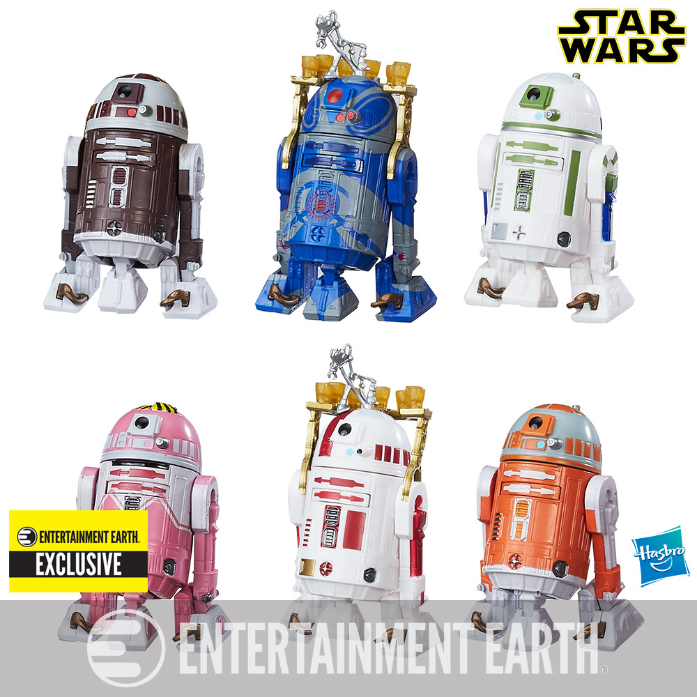 Star Wars The Black Series Astromech Droids 3 3//4-Inch Action Figures