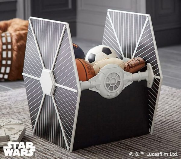 At At Bookcase Tie Fighter Storage And More For Your
