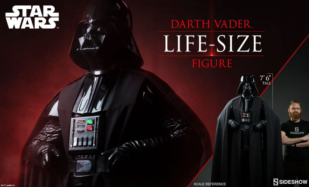 Darth Vader Life Size Figure From Sideshowyodasnews Com A Daily Stop For All Star Wars News