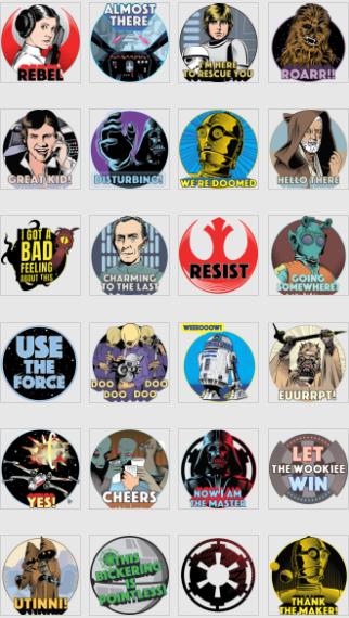 Topps-Star Wars-Rogue one-sticker 40