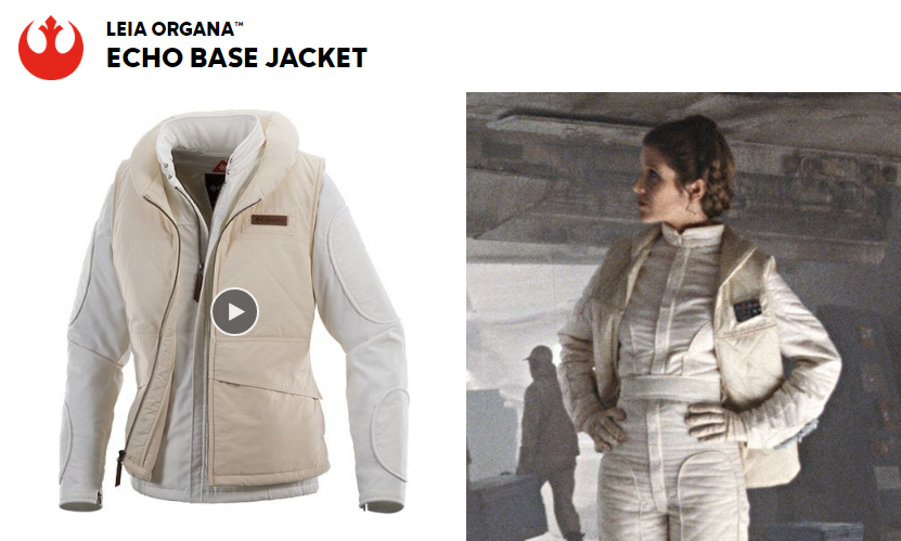 ede4432b7 Echo Base Collection Star Wars Jackets from Columbia ON SALE NOW ...