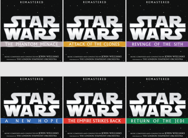 Remasters Of The First 6 Star Wars Soundtracks Coming May 4yodasnews Com A Daily Stop For All Star Wars News