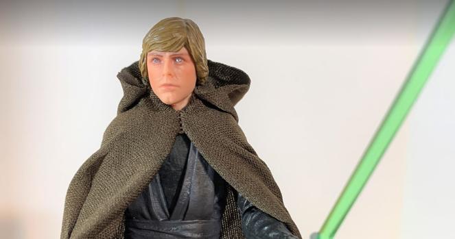 Star Wars Galaxie des aventures Luke Skywalker Jedi Knight Walmart Exclusive 2019