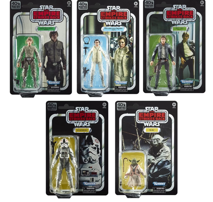 Star Wars The Black Series Empire Strikes Back 40th Anniversary 6 Inch Action Figures Wave 1 Case Free Shippingyodasnews Com A Daily Stop For All Star Wars News