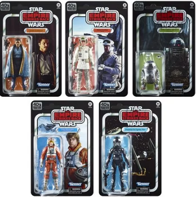 The Black Series Empire Strikes Back 40th Anniversary 6 Inch Action Figures Wave 2 Case Free Shippingyodasnews Com A Daily Stop For All Star Wars News